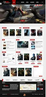 Film Template For Photos Zt Movie Joomla Template For Film Tv Movie Store Or Videographers