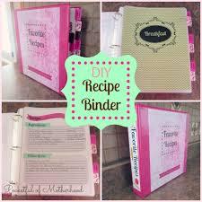 collage binder recipe binder homemade gift idea