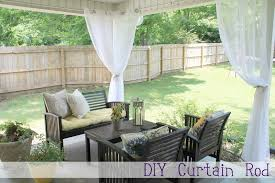how to make outdoor curtains for patio designs