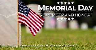 The best memorial day 2021 furniture deals. City Offices Closed Memorial Day 2021 Winter Springs Florida