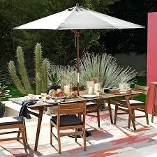 west elm patio furniture. Perfect Furniture West Elm Patio Furniture View In Gallery Grey Outdoor Umbrella From For West Elm Patio Furniture
