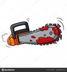 Image result for drawing of chainsaw