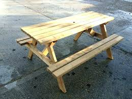 home depot picnic table kit home depot picnic table redwood picnic table plans large size of