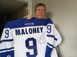 Hockey community mourns death of Dan Maloney - Orillia News