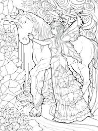 Fairies Coloring Pages For Adults Fantasy Coloring Pages For Adults