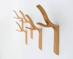 Wooden Wall Coat Rack Hooks Peg Wall Coat Hook Colorful Solid Ash Cylindrical Wood Hooks 47