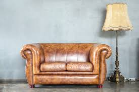 to re a leather couch