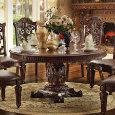 acme vendome dining set implausible acme 60 inch round table cherry home design ideas