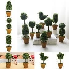 artificial plant in pots garden patio