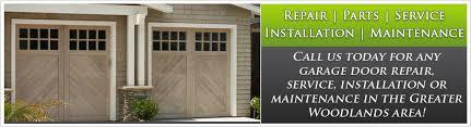 fix garage doorGarage Doors Repair The Woodlands  Garage Door Installation