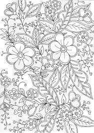 Kleurplaten Volwassenen Bloemen Nvnpr