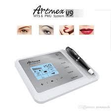 artmex v9 permanent makeup machine professional long time liner tattoo machine microblade eyebrow pen micropigmentation equipment kp permanent makeup