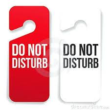 Do Not Disturb Template Related Post Do Not Disturb Door Hanger