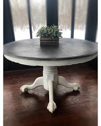 country kitchen table. Fine Kitchen Vintage Expandable Round Kitchen TableFarmhouse Wooden TableRustic  With Country Table