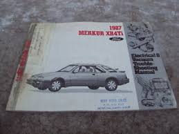 merkur xrti wiring diagrams electrical service manual image is loading 1987 merkur xr4ti wiring diagrams electrical service manual