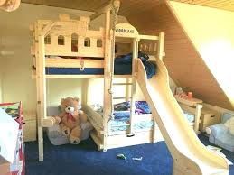 Bunk bed with slide and desk Build Your Own Bed With Slide Ikea Cool Bunk Bed With Slide Beds Slide For Bed Out With Plans Bed With Slide Ikea Loft Umairshakilinfo Bed With Slide Ikea Lofted Bed Bunk Bed Instructions Loft Bed With