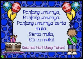 Happy Birthday Song In Bahasa Indonesia Lote Chart Indonesian Panjang Umurnya