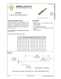 Tcs10k5 10k Ohm Temperature Chart Manualzz Com