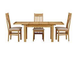 slat back chairs. Brampton Oak 1.3m Extending Table \u0026 6 Slat Back Chairs
