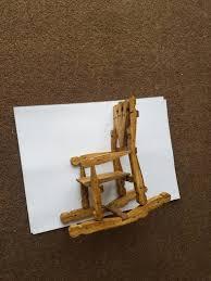 clothes peg rocking chair