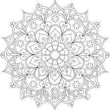 Coloring Pages Ideas Flower Mandala Coloring Pages Photo Ideas
