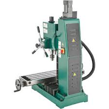 benchtop milling machine. grizzly g0720r 2hp 110v bench-top heavy-duty milling machine with power head elevation benchtop
