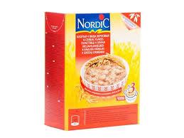 <b>Хлопья Nordic 4-х</b> зерновые 600г 14- Детки