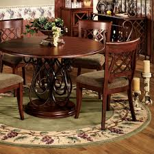 tuscan round dining table in inspiration italian area rugs prepare 15
