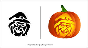 Free Halloween Pumpkin Carving Patterns 2012 | 15 Scary Stencils In ...