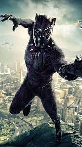 Home Screen Black Panther Wallpaper Hd