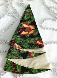 2015 Christmas tree napkin folding - Fashion Blog