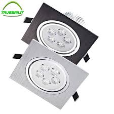 recessed spot lighting. Led Downlights Square Recessed Spot Lamps 3W 5W 7w Dimmable Down Lights 110V 220V Home Lighting