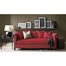 red couch at home furniture