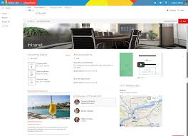Sharepoint Website Examples How To Build A Cool Intranet Landing Page Using Modern Page