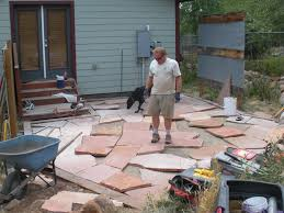 flagstone landscaping. Cutting Stone: Flagstone Landscaping