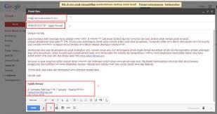 Cara Mengirim Surat Lamaran Kerja Melalui Email Jasa Penulis