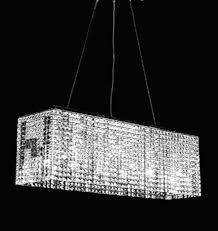 chandelier replacement crystals rectangular prism linear crystal pendant lighting fixture