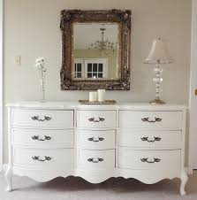 glass bedroom furniture rectangle shape wooden cabinets:  wood bedroom white stained bedroom dresser with flate panel curve carved white hook legs style amazing