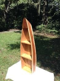row boat shelf handmade wooden boat shelf rowboat shelf by row boat bookshelves