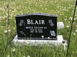 Merle Lillian Blair (1940-2012) - Find A Grave Memorial
