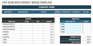 Payroll Pay Stub Template Free Payroll Check Template Gotostudy Info