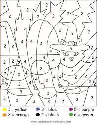 Color By Number For Kindergarten : Wallpaper Download ...