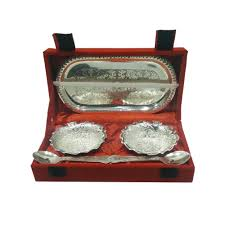chrome plated gift set silver leaf the one housewarming return gifts india housewarming return gifts usa
