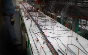 boat wire harness taco marine acirc reg  get wired the project boat blog video is a fascinating behind the scenes peek into how a boat is wired understanding how a wiring harness is organized and
