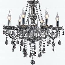 foucaults orb smoke crystal chandelier 32 free popular hot models gray minimalist living room dining