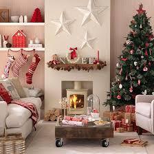 Living Room:Scandinavian Christmas Decorating Ideas For Modern Living Room  Attractive Christmas Decorating Ideas for