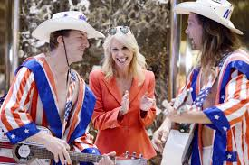 Kellyanne Conway Got Serenaded by Naked Cowboys