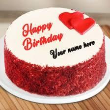 Write Name On Boyfriend Birthday Cake Images My Name Pix India