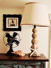 diy home lighting ideas. How To Make A Nautical-Themed Lamp Diy Home Lighting Ideas