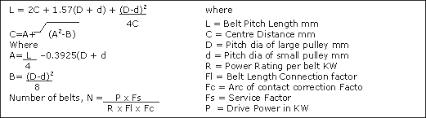 Rubber Vee Belt Technical Specification B C Spb Spc